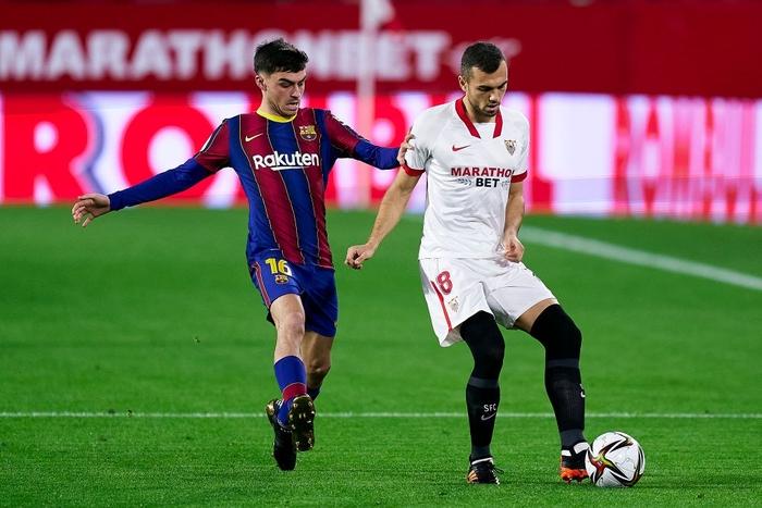 Người cũ gieo sầu cho Barca ở lượt đi Cúp nhà Vua Tây Ban Nha - Ảnh 1.