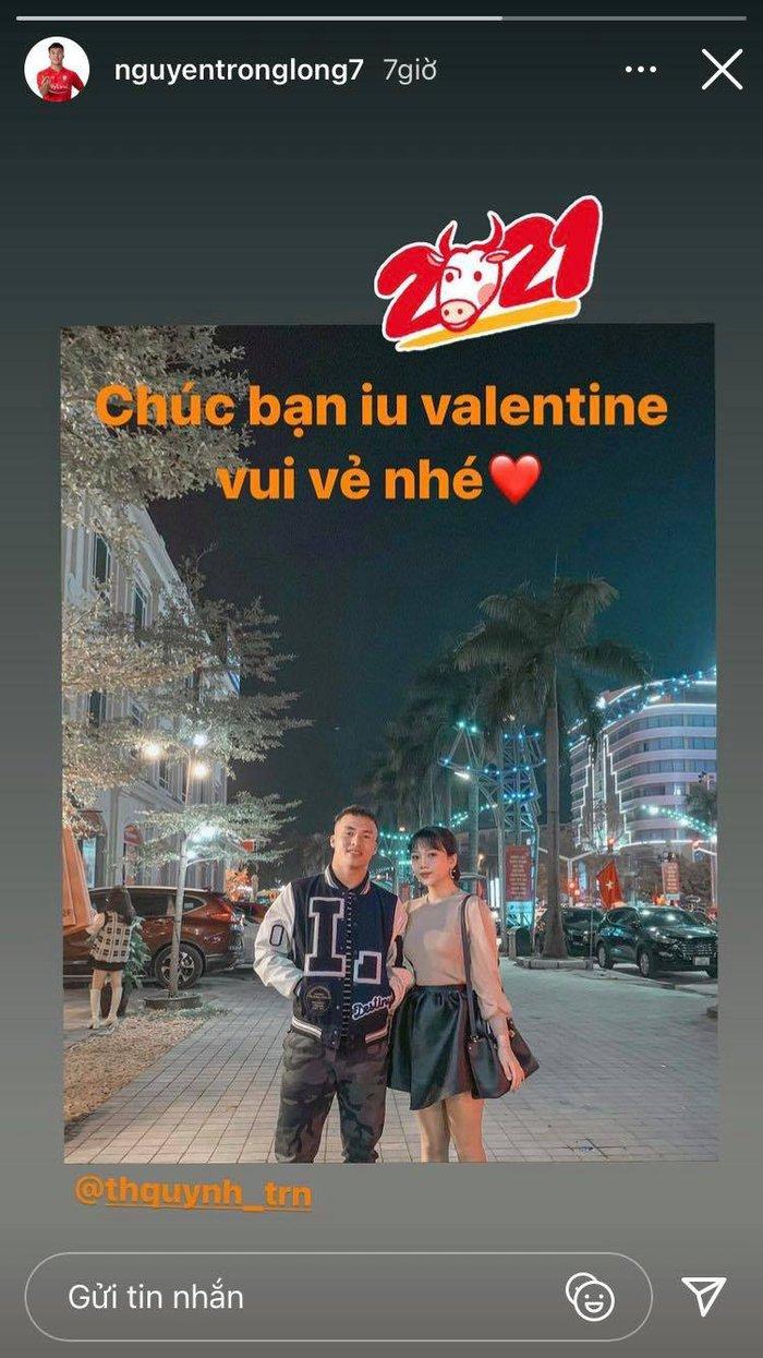 Ngày Valentine của cầu thủ Việt: Văn Đức muốn bé Dâu Tây có em, Huy Hùng tự tay gội đầu cho bà xã - Ảnh 6.