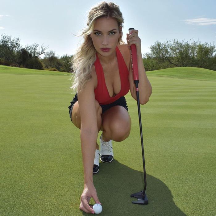 Nhẹ nhàng làm vài gậy, nữ golfer vòng 1 khủng khiến các huyền thoại hít khói về khoản kiếm tiền nhàn - ảnh 9
