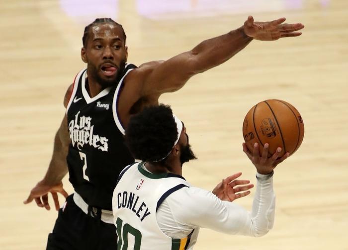Vững vàng trên vạch ném phạt, Los Angeles Clippers chặn đứng chuỗi 9 trận thắng của Utah Jazz - Ảnh 3.