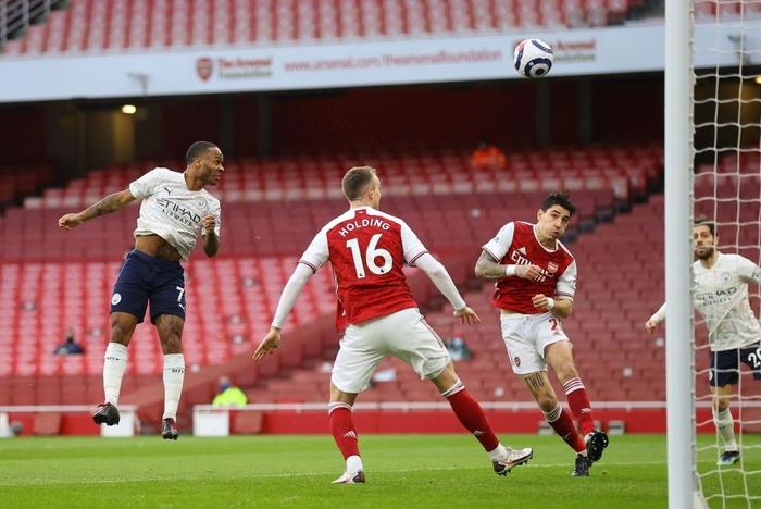 Thi đấu lấn lướt, Manchester City xây chắc ngôi đầu với chiến thắng tối thiểu trước Arsenal - Ảnh 1.