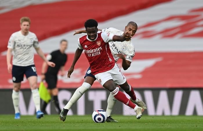 Thi đấu lấn lướt, Manchester City xây chắc ngôi đầu với chiến thắng tối thiểu trước Arsenal - Ảnh 2.