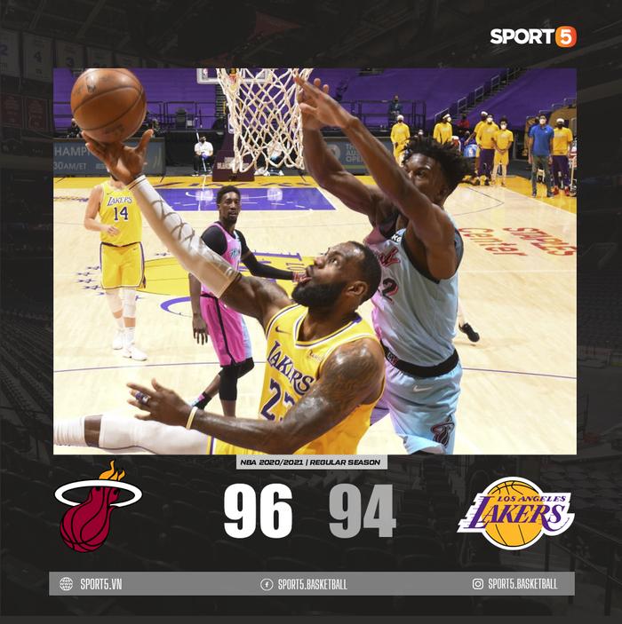 Los Angeles Lakers nhận thất bại đáng tiếc trước Miami Heat ngay tại STAPLES Center - Ảnh 3.