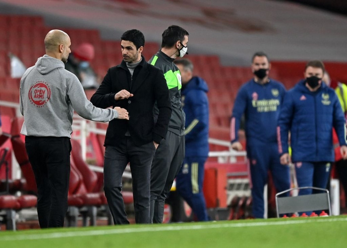 Thi đấu lấn lướt, Manchester City xây chắc ngôi đầu với chiến thắng tối thiểu trước Arsenal - Ảnh 6.
