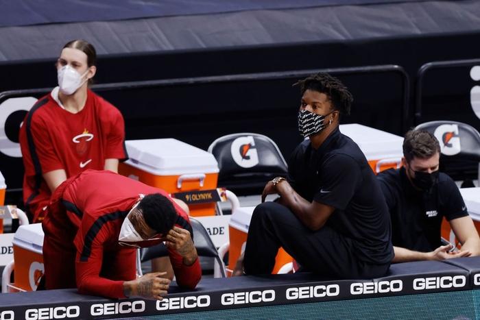 Jimmy Butler chia sẻ cảm xúc về những khó khăn cùng Miami Heat khi trở lại sau vấn đề với Covid-19 - Ảnh 1.