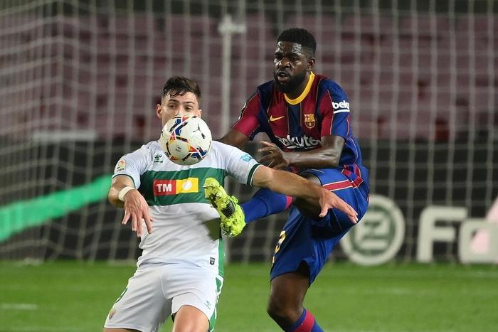 Messi tỏa sáng giúp Barca gỡ thế bế tắc trước đội áp chót La Liga - Ảnh 4.