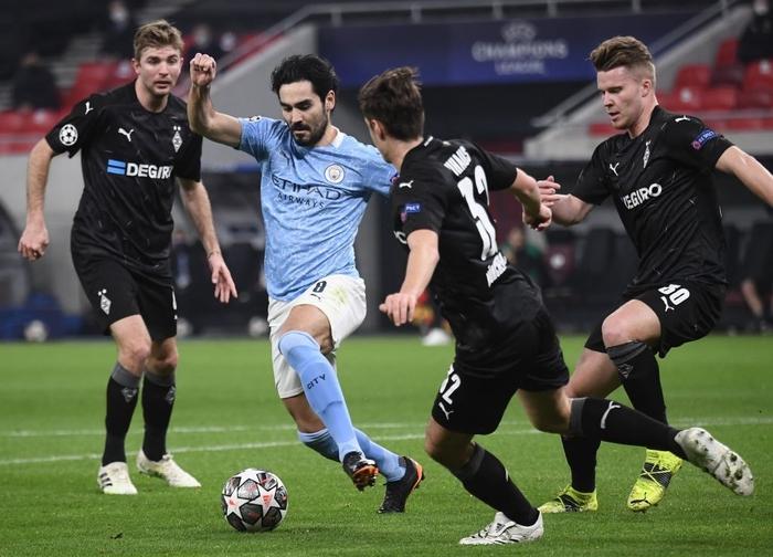 Man City đặt vé sớm vào Tứ kết Champions League trong ngày thầy trò Pep lập thêm kỷ lục mới - Ảnh 3.