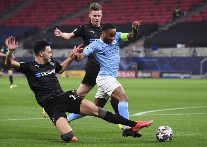 Man City đặt vé sớm vào Tứ kết Champions League trong ngày thầy trò Pep lập thêm kỷ lục mới - Ảnh 4.