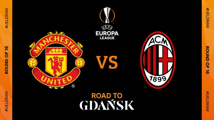 Cặp đấu kinh điển AC Milan - MU tái hiện ở vòng 1/8 Europa League - Ảnh 1.