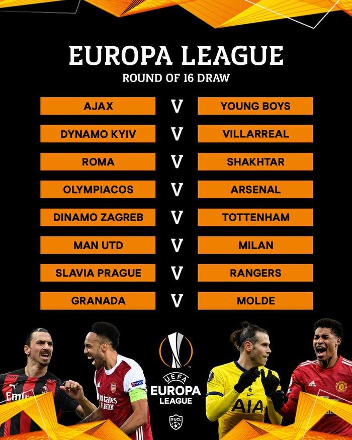 Cặp đấu kinh điển AC Milan - MU tái hiện ở vòng 1/8 Europa League - Ảnh 3.