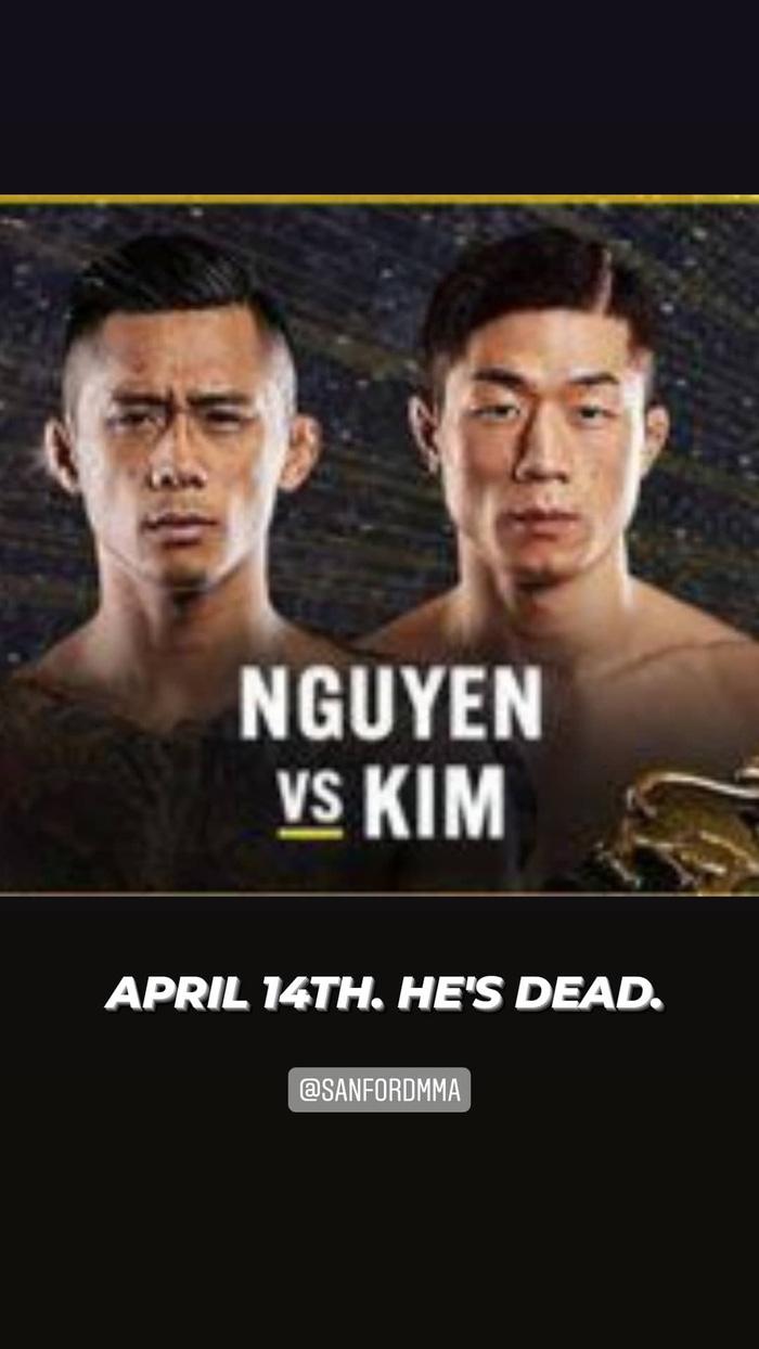 """Martin Nguyễn đối đầu cùng """"Chiến thần"""" Hàn Quốc vào tháng 4 - Ảnh 1."""