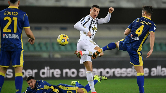 Juventus bị cầm hòa dù Ronaldo tiếp tục nổ súng - Ảnh 2.