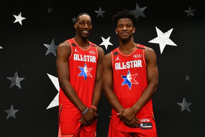 Thực hư chuyện Jimmy Butler không dự All Star vì Bam Adebayo - Ảnh 1.
