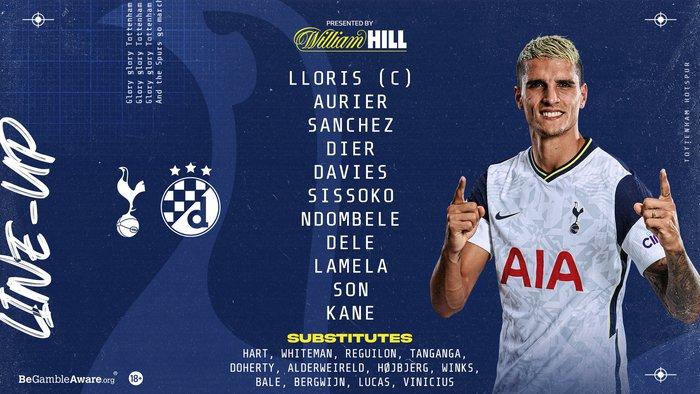 Harry Kane tỏa sáng giúp Tottenham thắng dễ Dinamo Zagreb - Ảnh 2.
