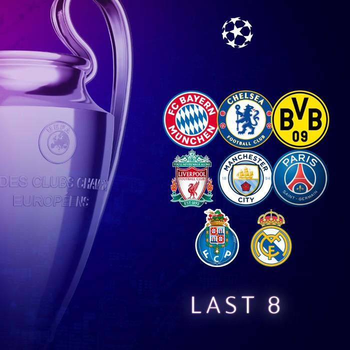 Bayern tái ngộ PSG, Real đụng Liverpool tại tứ kết Champions League - Ảnh 1.