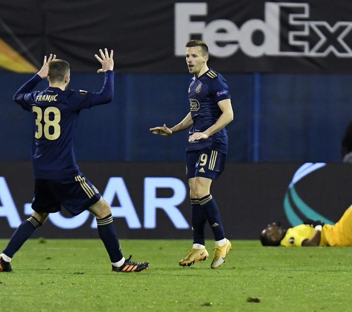 45 phút điên rồ tiễn đội bóng của Son Heung-min khỏi Europa League - Ảnh 2.