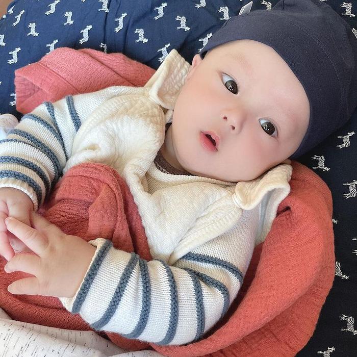 Ngắm loạt ảnh xinh yêu của con trai Duy Mạnh: Thiên thần chính là mang dáng vẻ thế này đây - Ảnh 4.