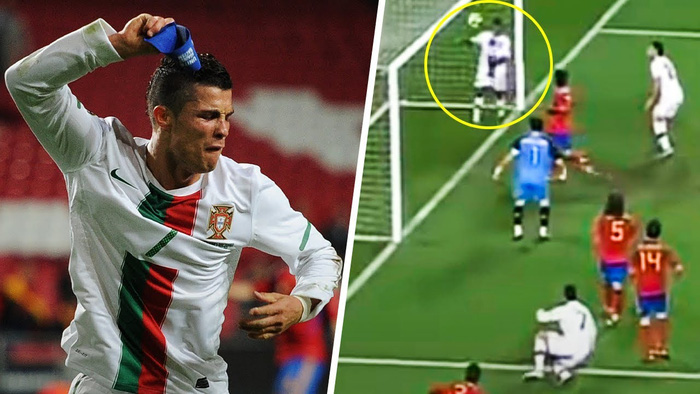 Những khoảnh khắc Ronaldo mất bình tĩnh đến cực độ - Ảnh 1.