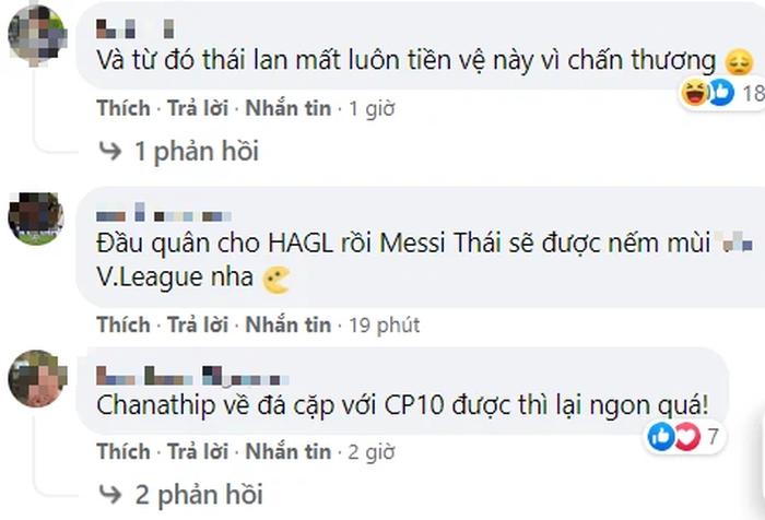 HLV Kiatisuk mời Chanathip đến V.League, fan bình luận: Áo HAGL quá chật so với anh - Ảnh 3.