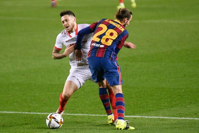"""Barca """"từ cõi chết trở về"""" kịch tích để vào chung kết Cúp nhà Vua Tây Ban Nha  - Ảnh 6."""