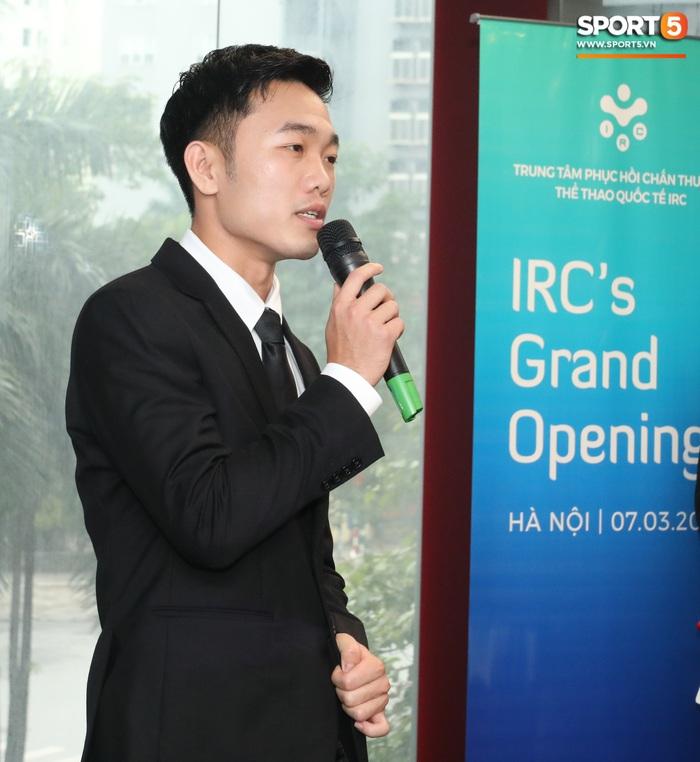 Xuân Trường đầy tự tin, ra dáng Chủ tịch trong ngày ra mắt dự án khởi nghiệp - Ảnh 4.