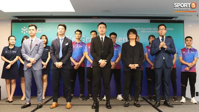 Xuân Trường đầy tự tin, ra dáng Chủ tịch trong ngày ra mắt dự án khởi nghiệp - Ảnh 6.