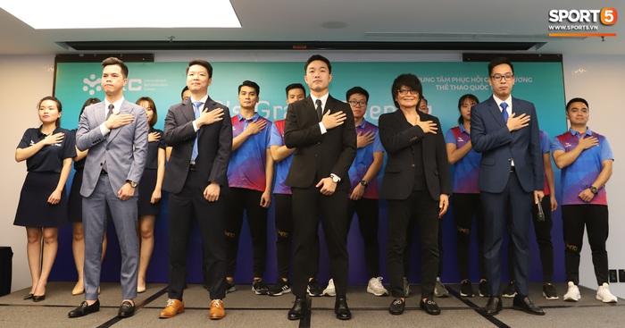 Xuân Trường đầy tự tin, ra dáng Chủ tịch trong ngày ra mắt dự án khởi nghiệp - Ảnh 7.