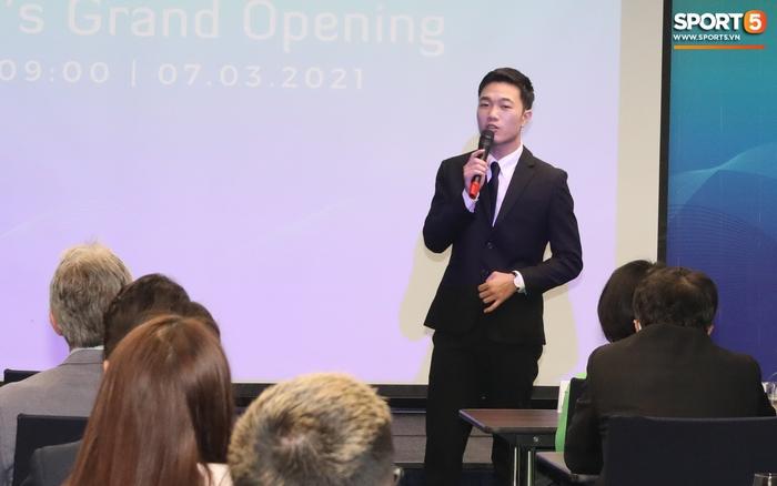 Xuân Trường đầy tự tin, ra dáng Chủ tịch trong ngày ra mắt dự án khởi nghiệp - Ảnh 3.