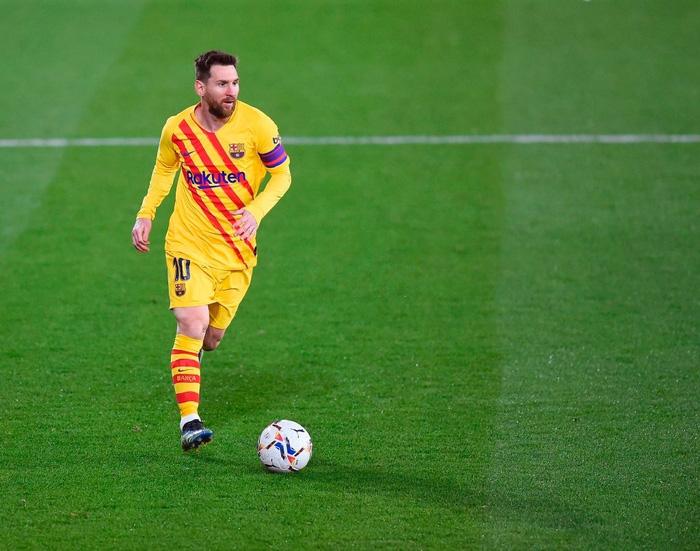 Messi tỏa sáng, Barca áp sát ngôi đầu La Liga - Ảnh 1.