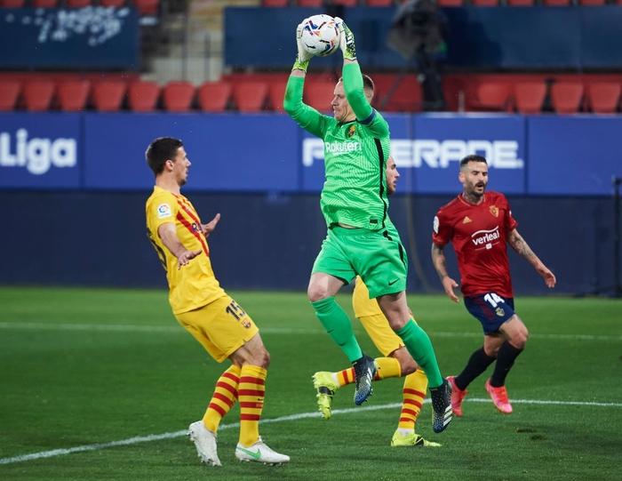 Messi tỏa sáng, Barca áp sát ngôi đầu La Liga - Ảnh 4.