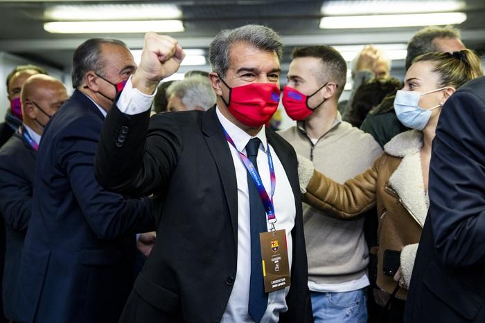 Laporta đắc cử chủ tịch Barca lần thứ hai trong lịch sử - Ảnh 1.
