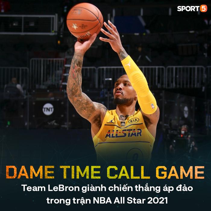 Giannis Antetokounmpo lập kỷ lục All Star với danh hiệu MVP, Team LeBron thắng dễ đối thủ - Ảnh 1.