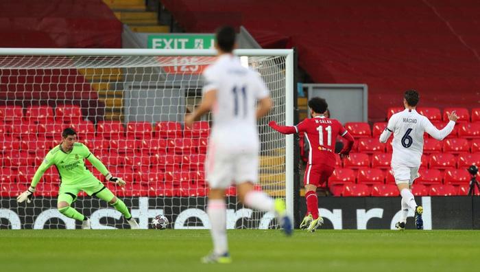 Salah chân gỗ, Liverpool bất lực để Real Madrid loại khỏi Champions League - Ảnh 2.