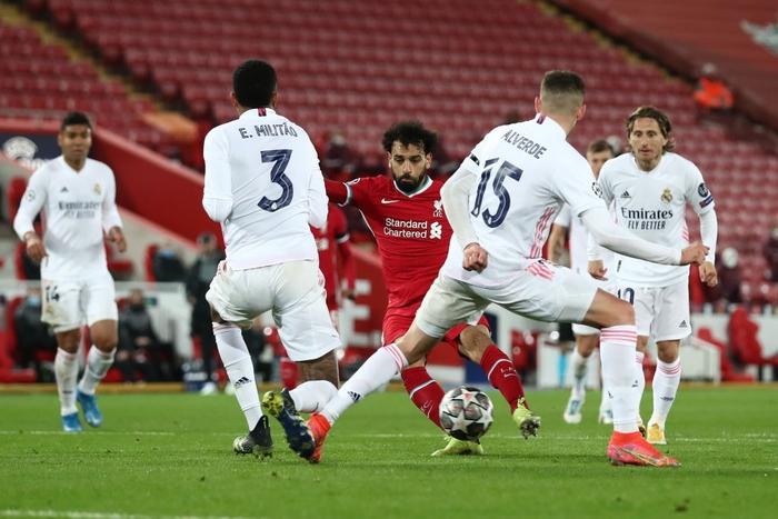 Salah chân gỗ, Liverpool bất lực để Real Madrid loại khỏi Champions League - Ảnh 4.