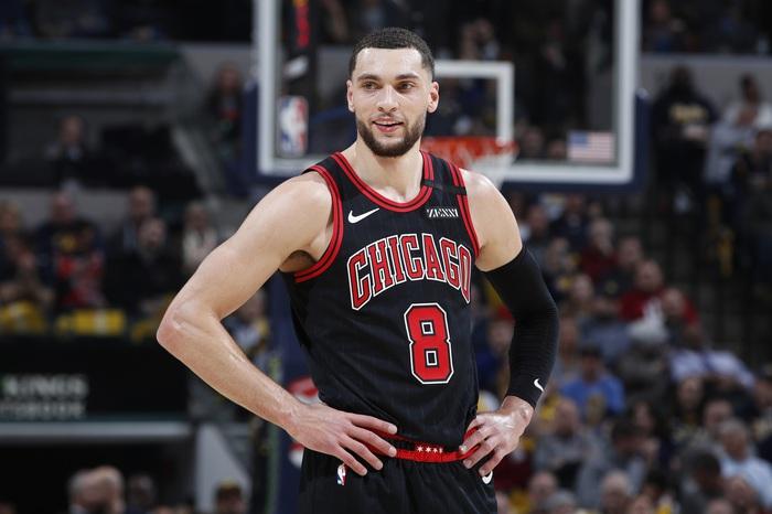 """Ngôi sao Zach LaVine vắng mặt hai tuần do Covid-19, Chicago Bulls lo """"sốt vó"""" - Ảnh 2."""