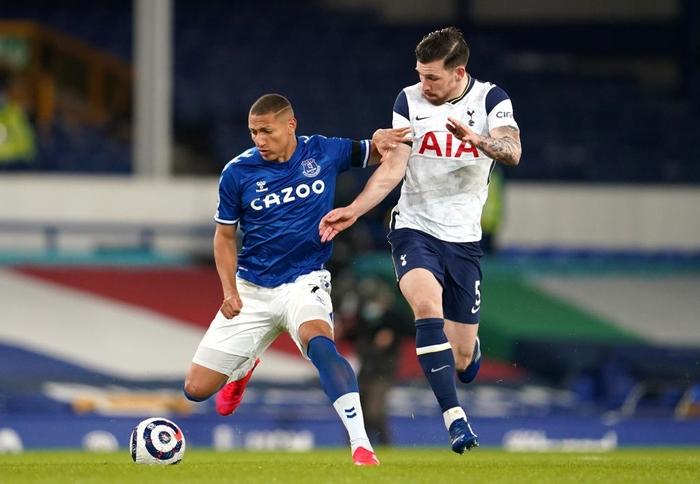 Rượt đuổi gay cấn, Tottenham chia điểm với Everton trong ngày Harry Kane lập cú đúp - Ảnh 1.