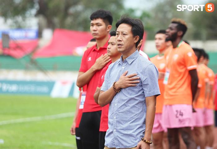"""HLV Nguyễn Thành Công: """"Chiến thắng này giúp các cầu thủ giải tỏa tâm lý"""" - Ảnh 1."""