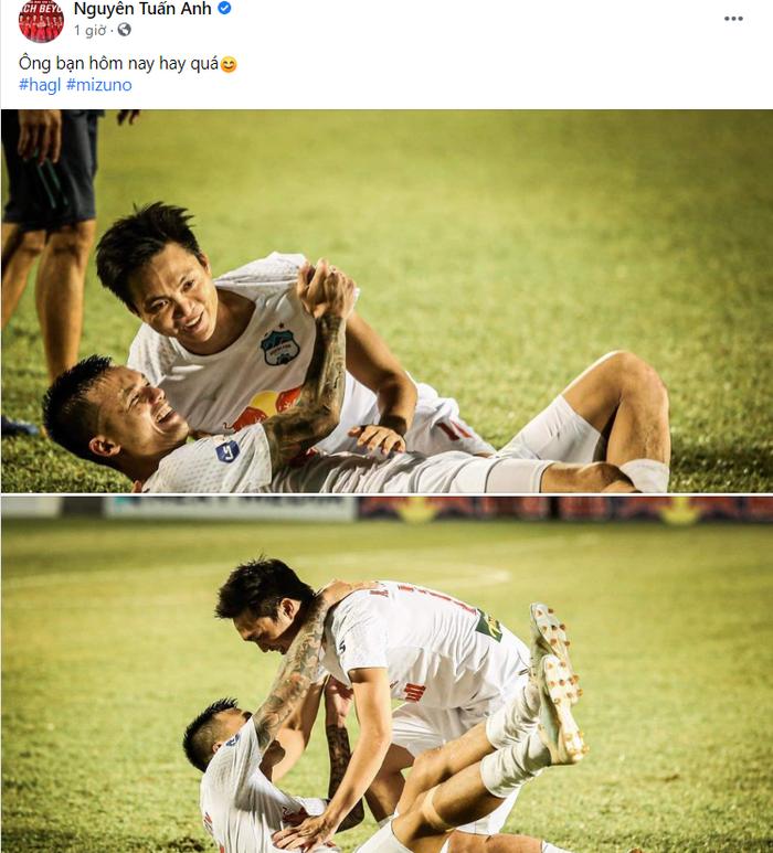 Cầu thủ HAGL nổ tưng bừng sau chiến thắng: Văn Toàn mắng Công Phương tham, Minh Vương đòi có 10 người yêu - Ảnh 7.