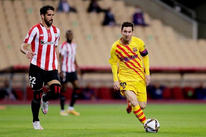 Bùng nổ ở hiệp 2, Barcelona dễ dàng vùi dập Bilbao để lên ngôi tại Cúp Nhà vua Tây Ban Nha - Ảnh 1.