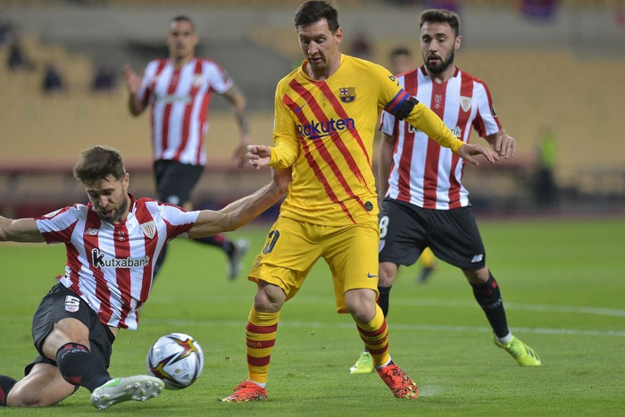 Bùng nổ ở hiệp 2, Barcelona dễ dàng vùi dập Bilbao để lên ngôi tại Cúp Nhà vua Tây Ban Nha - Ảnh 2.