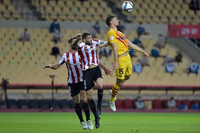 Bùng nổ ở hiệp 2, Barcelona dễ dàng vùi dập Bilbao để lên ngôi tại Cúp Nhà vua Tây Ban Nha - Ảnh 3.