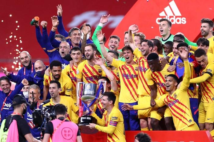 Bùng nổ ở hiệp 2, Barcelona dễ dàng vùi dập Bilbao để lên ngôi tại Cúp Nhà vua Tây Ban Nha - Ảnh 9.