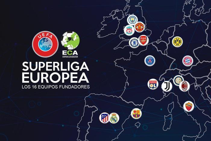 """Những điều cần biết về Super League, siêu giải đấu đe dọa biến Ngoại hạng Anh, Champions League thành """"giải cỏ"""" - Ảnh 1."""