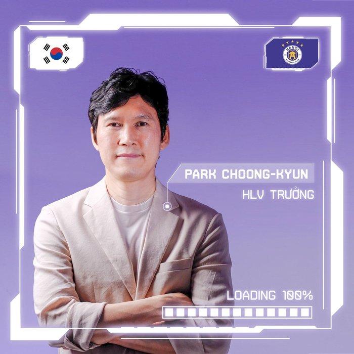 HLV Park Choong-kyun: Mục tiêu của tôi là đưa Hà Nội FC vươn tầm châu Á - Ảnh 2.