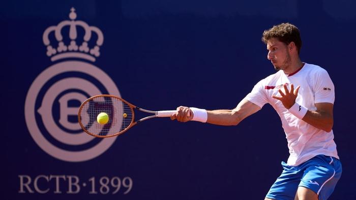 Nadal vào chung kết Barcelona, Djokovic thua sốc ở quê nhà - Ảnh 3.