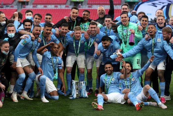 Man City đoạt chức vô địch đầu tiên mùa này nhờ khoảnh khắc tỏa sáng của cái tên bất ngờ - Ảnh 9.