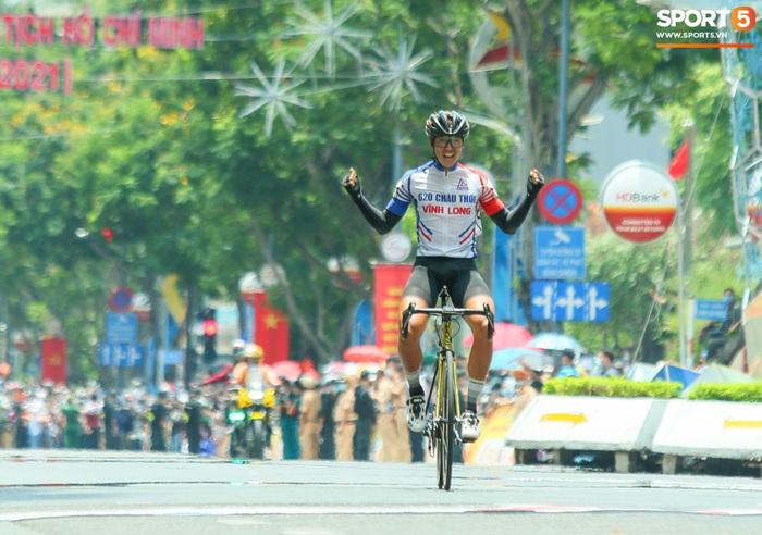 Chặng cuối Cúp Truyền hình TP. Hồ Chí Minh: Loic Desriac xuất sắc bảo vệ thành công Áo Vàng chung cuộc - ảnh 1