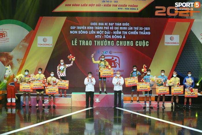 Chặng cuối Cúp Truyền hình TP. Hồ Chí Minh: Loic Desriac xuất sắc bảo vệ thành công Áo Vàng chung cuộc - ảnh 2