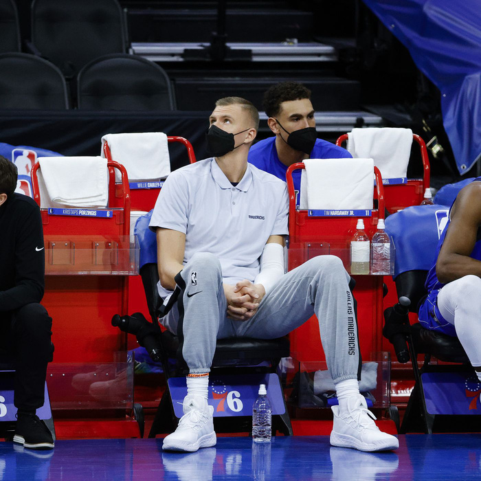 Đã đến lúc Dallas Mavericks lo ngại về bản hợp đồng Kristaps Porzingis của mình? - Ảnh 3.