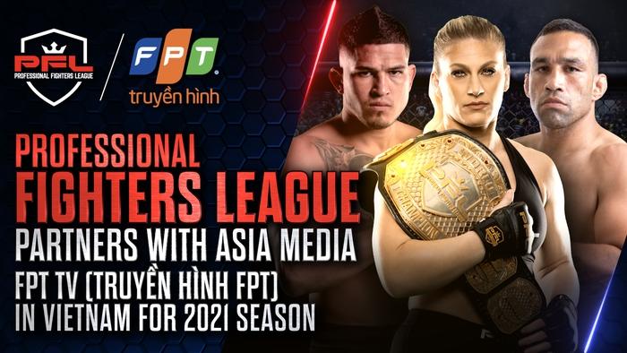 Giải Professional Fighters League chính thức được phát sóng tại Việt Nam - Ảnh 1.